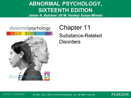 Chapter 11 Substance-Related Disorders