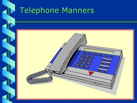 "Telephone Manners.  ""Take a music bath once or twice a week for a few seasons, and you will find that it is to the soul what the water bath is to the."