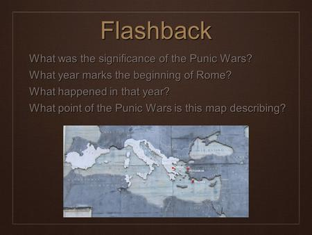 What was the significance of the Punic Wars for Rome?