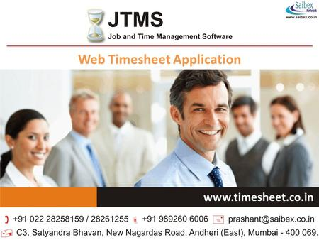 Web Timesheet Application