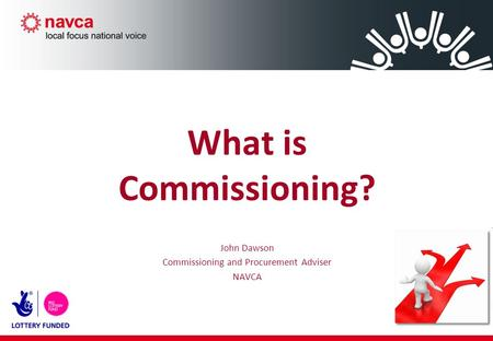 What is Commissioning? John Dawson Commissioning and Procurement Adviser NAVCA.