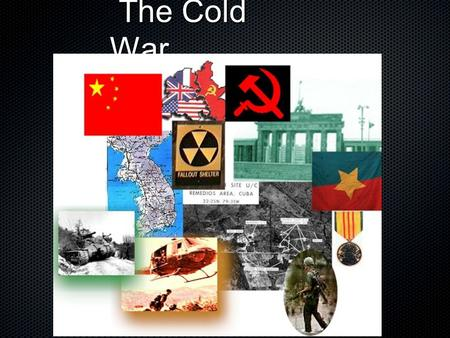 The Cold War The Cold War. The Cold War - Origins The Cold War - Origins Conflicting goals and ideologies linked to origin of Cold War U.S.S.R. - security.