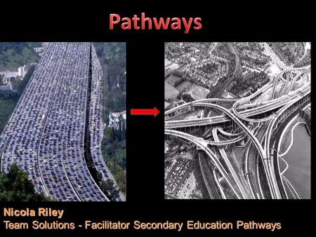 Nicola Riley Team Solutions - Facilitator Secondary Education Pathways.