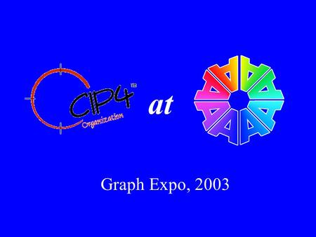 At Graph Expo, 2003. Goals Standardize job planning and layout procedures Re-purpose data – eliminate data entry errors and reduce the redundancy associated.