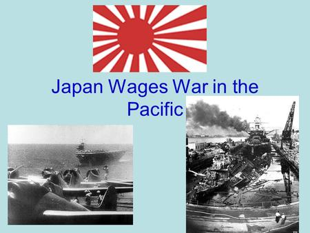 Japan Wages War in the Pacific. Imperial Japan Nationalism and militarism raged in Japan. Japan is a very small country with a large population. (smaller.
