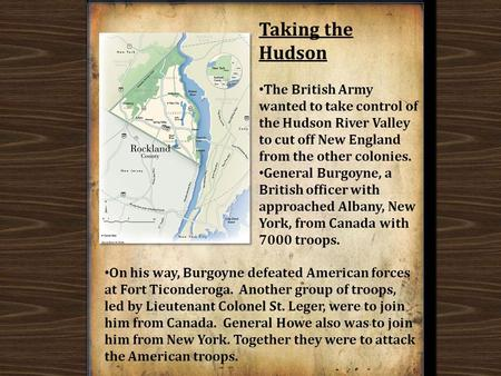 After the initial fight, more battles took place. Eventually, the British General Cornwallis had to surrender. At this point the British have realized.