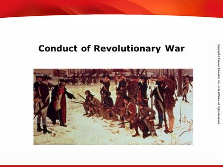 TEKS 8C: Calculate percent composition and empirical and molecular formulas. Conduct of Revolutionary War.