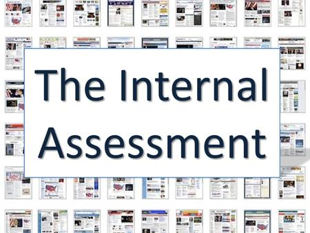 How to write a brilliant IA. What is an IA? An internal Assessment in Economics is a written commentary based on an economics article that you have chosen.