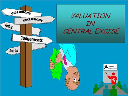 VALUATION IN CENTRAL EXCISE. ASSESSABLE VALUE(AV) = TRANSACTION VALUE(TV) CONDITIONS TO ACCEPT TV AS AV Delivery should be at the time and place of removal.