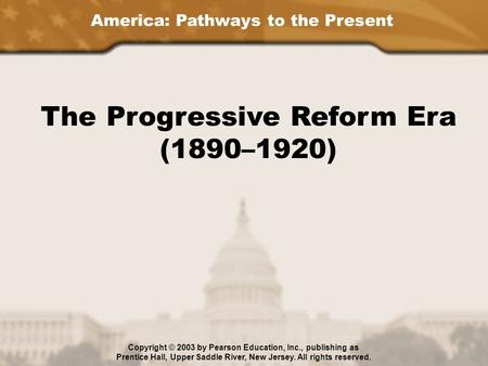 a history of the progressive movement in american education The suffrage movement was part of this wave of progressive era reforms   hawkins brown worked to ensure that black children received a good education.