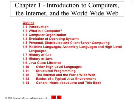 an introduction to the computer science and the world wide web Computer networking and management lesson 1 - computer networks and internet  we provide brief introduction history of computer networking  the world wide web.