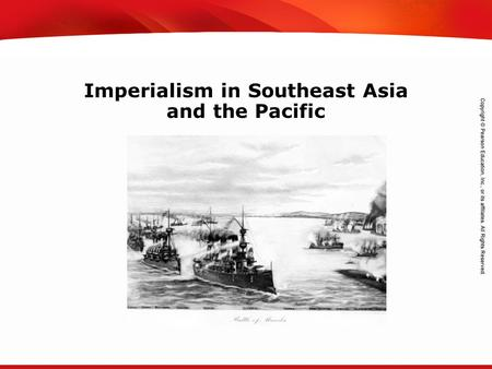 TEKS 8C: Calculate percent composition and empirical and molecular formulas. Imperialism in Southeast Asia and the Pacific.