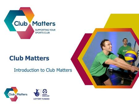 Club Matters Introduction to Club Matters. What is Club Matters?
