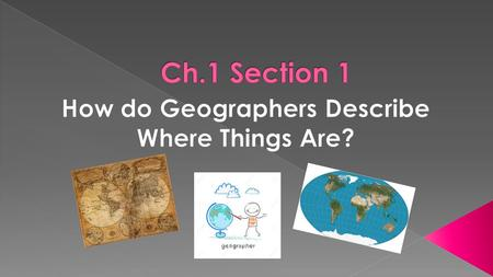  Geography is the study of where things are found on Earth's surface and the reasons for the locations.  Human geographers ask two simple questions…