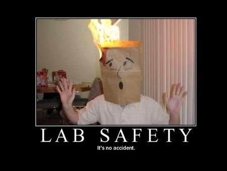Laboratory Safety Rules Science Department Windham High School.