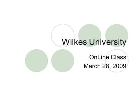 Wilkes University OnLine Class March 28, 2009. Early Childhood and Elementary Curricula - Essential Questions Why should curriculum leaders be familiar.
