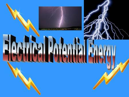 Gravitational Potential Energy GPE – The amount of energy a mass possesses due to its position in a gravitational field. The amount of work an object.