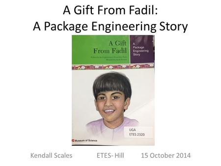 A Gift From Fadil: A Package Engineering Story