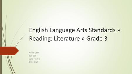 English Language Arts Standards » Reading: Literature » Grade 3