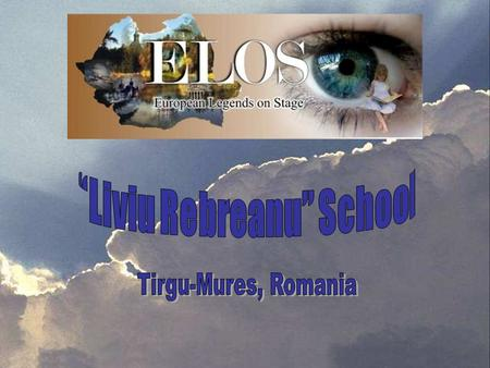 About our school… Name… Our school was named after a great Romanian writer, Liviu Rebreanu.Our school was named after a great Romanian writer, Liviu.