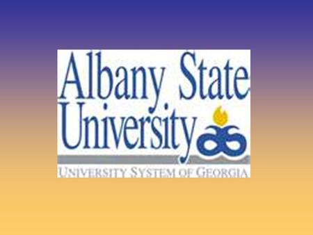 Albany State University was founded in Albany State University was founded in 1903 as the Albany Bible and Manual 1903 as the Albany Bible and Manual.