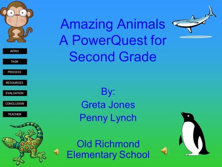 Amazing Animals A PowerQuest for Second Grade