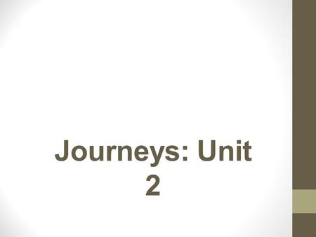 Journeys: Unit 2. Lesson 6: How are performances similar and different from written stories? Spelling: Short Uu Vocabulary Suffixes, -y, -ous Target Skill: