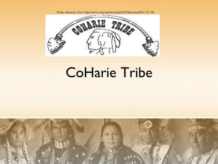 CoHarie Tribe Photo retrieved from