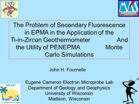 The Problem of Secondary Fluorescence in EPMA in the Application of the Ti-in-Zircon Geothermometer And the Utility of PENEPMA Monte Carlo Simulations.