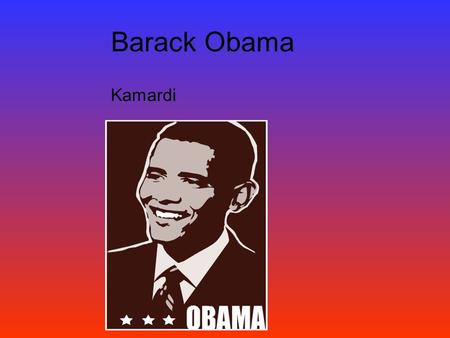 Barack Obama Kamardi. I don't take a dime of their money, and when I am president, they won't find a job in my White House. Barack Obama.
