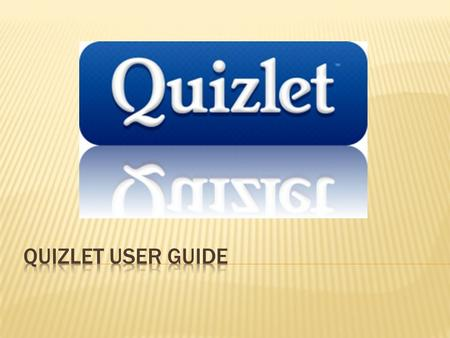 " Go to Quizlet.com and either choose ""make flashcards"" or search for something to study in the search box.Quizlet.com  If you choose ""make flashcards"""