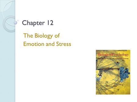 Chapter 12 The Biology of Emotion and Stress. Stress Stressor - An event that either strains or overwhelms the ability of an organism to adjust to the.