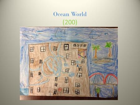 Ocean World (200). One Bedroom 1 bed a kitchen 1 bath.