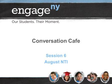 Conversation Cafe Session 6 August NTI. 2 Conversation Café Agreements Open-mindedness: listen to and respect all points of view Acceptance: suspend judgment.