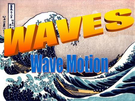 Lesson Objectives By the end of this lesson, you will be able to: State the different types of waves and the difference between them Describe the diffraction.