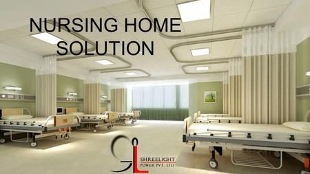 NURSING HOME SOLUTION. WE has solutions dedicated to the specific needs of healthcare facilities: well-being of inpatients, security of persons and their.