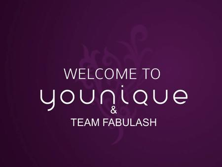 Welcome to & TEAM FABULASH.