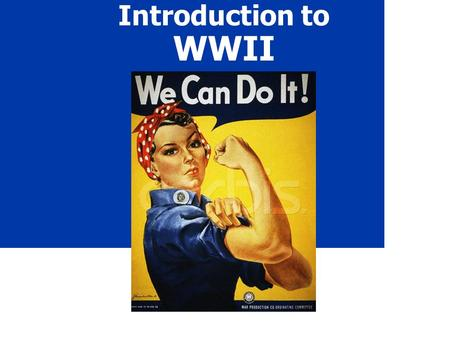 Introduction to WWII. 2 When? 1939 Sept.1 - Germany invades Poland (official start to the war ) Sept. 3 - Britain & France declare war on Germany Dec.