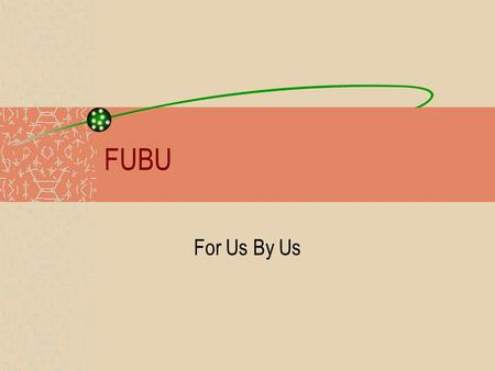 FUBU For Us By Us. – The Pentecostal movement from which COGIC, was founded (in part) by a Black man James Seymour.