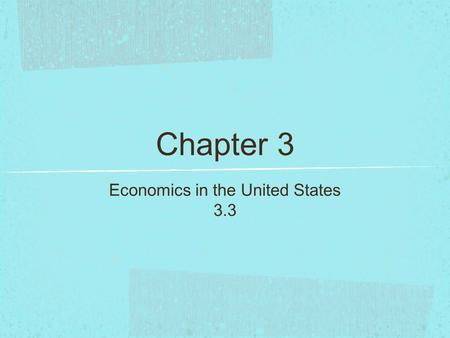 Chapter 3 Economics in the United States 3.3. Profit Profit is the money a business or person makes after expenses have been paid. Profits are very important.