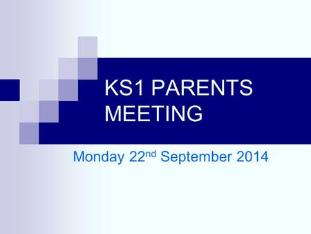 KS1 PARENTS MEETING Monday 22 nd September 2014. RED TED Read Every Day…Talk Every Day A motivational scheme to encourage children and parents to read.