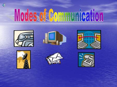 Good afternoon fellow classmates and Mrs.Morgado. The topic we were focusing on is Modes of Communication. We surveyed three classes: gr.1, gr.4, and.