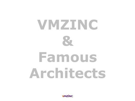 VMZINC & Famous Architects. + Rem Koolhaas VMZINC & Famous Architects > Collective housing - Fukuoka (Japan) Tailor made zinc square slates - QUARTZ-ZINC.
