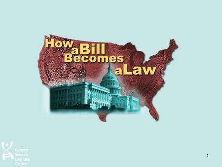 1. 2 Who can propose a law? Anyone can suggest an idea for a law. However, –Only Members of Congress can take a proposed law to the House of Representatives.
