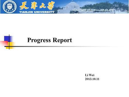 Progress Report Li Wei 2013.10.11. Synthesis of DMC MN synthesis: DMC synthesis: side reactions: MN DMC.