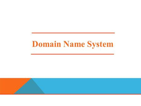 "Domain Name System. DNS DEFINITION The ""Domain Name System"" Created in 1983 by Paul Mockapetris (RFCs 1034 and 1035), modified, updated, and enhanced."