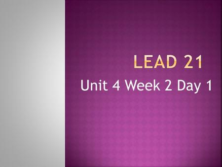 Unit 4 Week 2 Day 1. 1. lamb 6. knob 2. crumb 7. know 3. wrap 8. knee 4. wrist 9. friend 5. wrench 10. every.