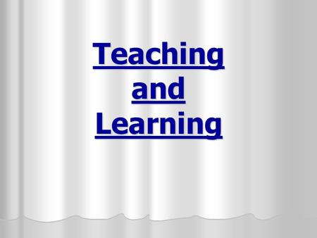Teaching and Learning. Types of language drills a. Substitution drills i. Substitution of classroom objects Substitution of classroom objects Substitution.