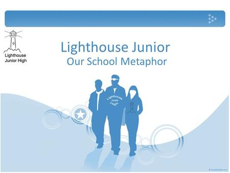Lighthouse Junior Our School Metaphor. Governance Curriculum Climate Staffing WE WILL EXAMINE THE FOLLOWING TOPICS: