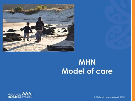 MHN Model of care. Drivers for Change A Failing P ublic P rivate P artnership Exiting generation of business owners Emerging generation with different.